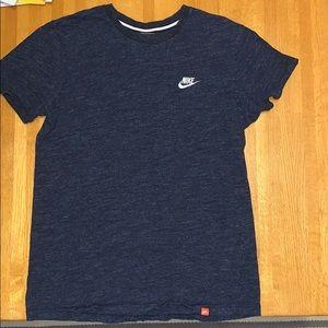 Men's Nike Short Sleeve Tee, Gray, Medium